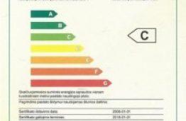 Pastatų energinio naudingumo sertifikavimo ekspertų mokymai