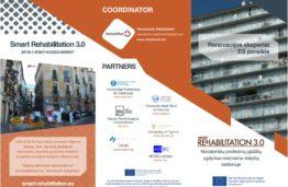 """Įvyko pirmasis projekto """"Smart Rehabilitation 3.0: Novatoriškų profesinių įgūdžių ugdymas esamame statybos sektoriuje"""" susitikimas"""